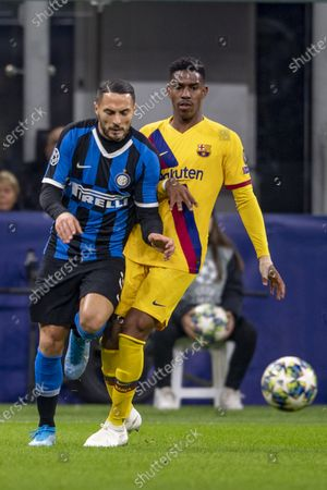 Editorial picture of Inter Milan v Barcelona, UEFA Champions League, Group F, Football, San Siro, Milan, Italy - 10 Dec 2019