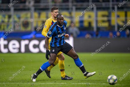 Romelu Lukaku (Inter) Clement Lenglet (FC Barcelona)