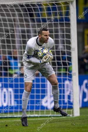 Stock Picture of Samir Handanovic (Inter)