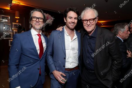 Charles Randolph, Writer/Producer, Ben Lawson and John Lithgow attend the Los Angeles Special Screening of Lionsgate's BOMBSHELL at the Regency Village Theatre in Los Angeles, CA on December 10, 2019.