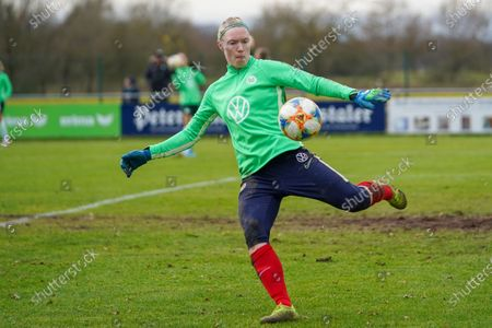 Hedvig Lindahl of Vfl Wolfsburg