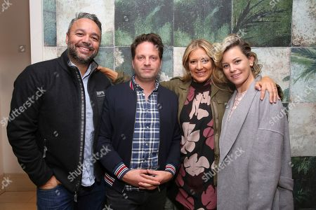 """Max Handelman, Daniela Taplin, Elizabeth Banks. Max Handelman, producer Daniela Taplin and Elizabeth Banks seen at the Focus Features """"Harriet"""" Special Screening at the London Hotel on in Los Angeles"""