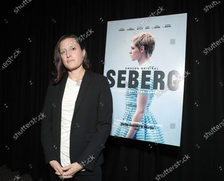 Stock Image of Cinematographer Rachel Morrison attends Amazon Studios Seberg Special Screening Presented by Audi