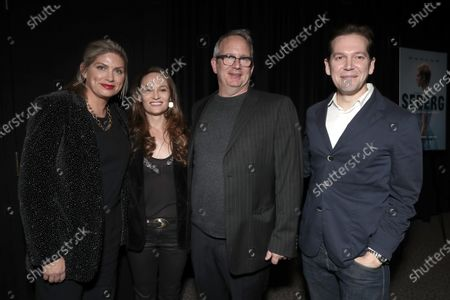 Stock Photo of Producer Kate Garwood, Writer Anna Waterhouse, Amazon Studios Co-Head of Movies Ted Hope and Writer Joe Shrapnel attend Amazon Studios Seberg Special Screening Presented by Audi
