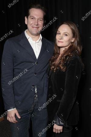 Writers Joe Shrapnel and Anna Waterhouse attend Amazon Studios Seberg Special Screening Presented by Audi