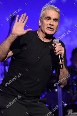 """Henry Rollins attends the 9th annual """"Home for the Holidays"""" benefit concert at The Novo, in Los Angeles"""