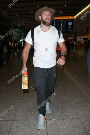 Editorial photo of 'I'm a Celebrity... Get Me Out of Here!' stars at Heathrow Airport, London, UK - 11 Dec 2019