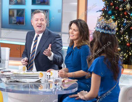 Piers Morgan and Susanna Reid with Vanessa Ponce de Leon