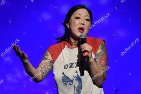"""Stock Photo of Margaret Cho performs during the 9th annual """"Home for the Holidays"""" benefit concert at The Novo, in Los Angeles"""