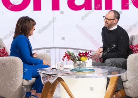 Lorraine Kelly and Mark Gatiss