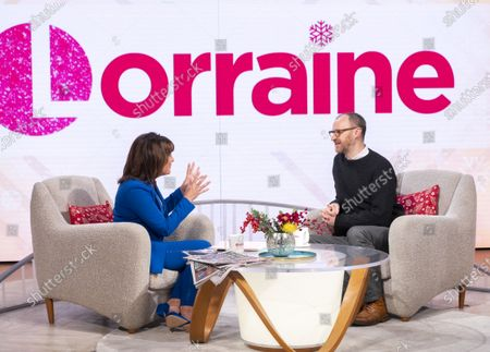 Stock Image of Lorraine Kelly and Mark Gatiss