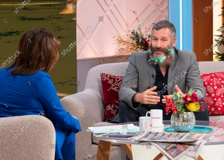 Stock Picture of Lorraine Kelly and Adam Hills