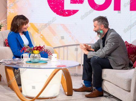 Editorial image of 'Lorraine' TV show, London, UK - 11 Dec 2019