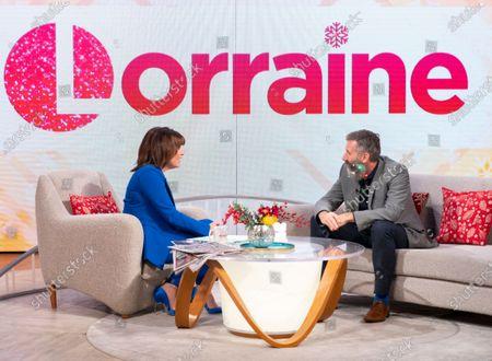 Editorial photo of 'Lorraine' TV show, London, UK - 11 Dec 2019