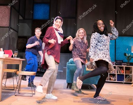 Editorial image of 'A Kind of People' Play performed at the Royal Court Theatre, London, UK - 11 Dec 2019