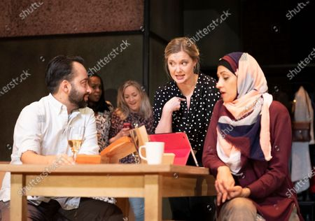 Asif Khan as Mo, Amy Morgan as Victoria,  Manjinder Virk as Anjum, Petra Letang as Karen