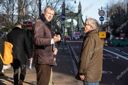 Zac Goldsmith, Minister of State for Environment, Food and Rural Affairs and International Development canvassing at Castelneau, Barnes ahead of Thursdayâ€s UK election.