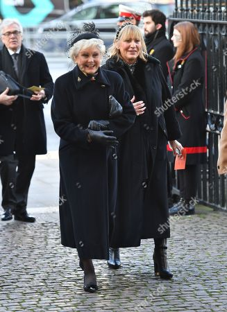 Angela Rippon and guest
