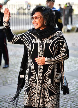 Stock Image of Dame Shirley Bassey