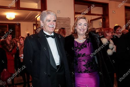 Spanish Ambassador Alfonso Dastis and wife