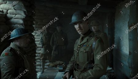Adrian Scarborough as Major Hepburn and Benedict Cumberbatch as Colonel Mackenzie
