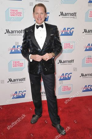 """Carson Kressley attends the 9th annual """"Home for the Holidays"""" benefit concert at The Novo, in Los Angeles"""