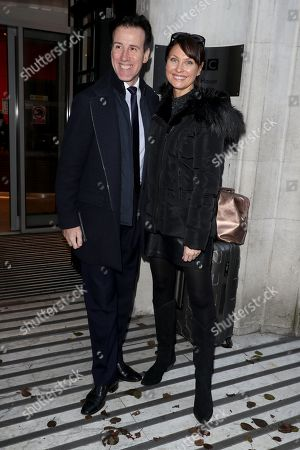 Editorial image of Strictly Come Dancing finalists out and about, London, UK - 11 Dec 2019