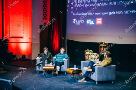 Editorial image of An Audience with Ruth Jones and Rob Brydon, National Museum of Wales, Cardiff, UK - 09 Dec 2019