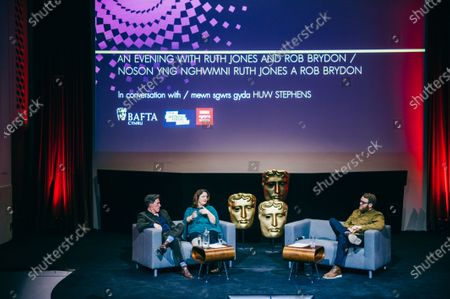 Editorial photo of An Audience with Ruth Jones and Rob Brydon, National Museum of Wales, Cardiff, UK - 09 Dec 2019