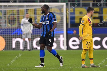 Romelu Lukaku of FC Internazionale