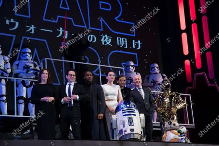 Editorial image of 'Star Wars: The Rise of Skywalker' film premiere, Tokyo, Japan - 11 Dec 2019