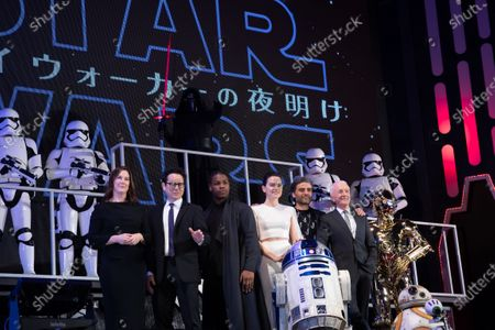 Editorial picture of 'Star Wars: The Rise of Skywalker' film premiere, Tokyo, Japan - 11 Dec 2019