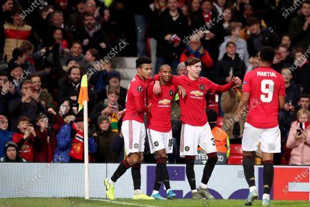 Editorial image of Manchester United v AZ Alkmaar, UEFA Europa League, Group L, Football, Old Trafford, UK - 12 Dec 2019