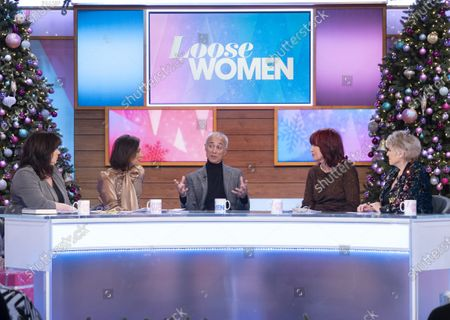 Editorial photo of 'Loose Women' TV show, London, UK - 11 Dec 2019