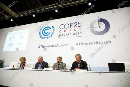 Editorial image of COP25 UN Climate Change Conference, Madrid, Spain - 11 Dec 2019