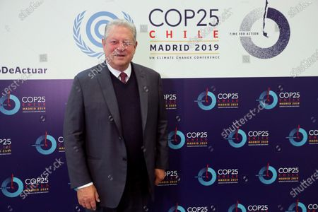 Former US Vice President Al Gore poses for the photographer during an interview granted by Agencia Efe in the framework of COP25 UN Climate Change Conference in Madrid, Spain, 11 December 2019. Gore said USA still have possibilities to remain in the Paris Agreement to combat climate change despite the words of the United States President, Donald Trump. The summit runs in Spanish capital until 13 December.