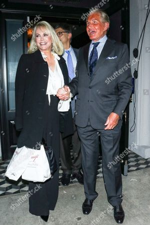 Kelly Day and George Hamilton at Craig's Restaurant