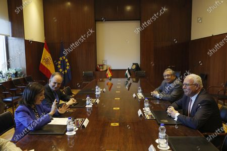 Editorial photo of Spanish acting Foreign Minister meets Palestinian counterpart, Madrid, Spain - 11 Dec 2019