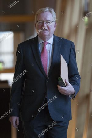 Scottish Parliament First Minister's Questions -  Jackson Carlaw, Interim Leader of the Scottish Conservative and Unionist Party, makes his way to the Debating Chamber.