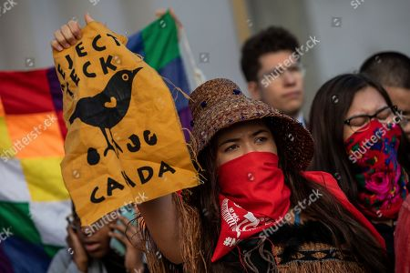 Protesters gather at the COP25 summit in Madrid,. World leaders agreed in Paris four years ago to keep global warming below 2 degrees Celsius (3.6 degrees Fahrenheit), ideally no more than 1.5 C (2.7 F) by the end of the century. Scientists say countries will miss both of those goals by a wide margin unless drastic steps are taken to begin cutting greenhouse gas emissions next year. Claiming that the message doesn't seem to be getting through to governments, over one hundred activists led by representatives of indigenous peoples from Latin and North America made their way to the talks' venue, blocking for some tense minutes the entrance to a plenary meeting where U.N. Secretary General Antonio Guterres was about to speak