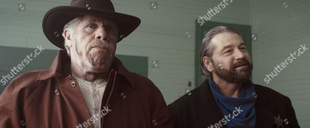Ron Perlman as Charlie Storm and Chris Mullinax as Marshall Franks