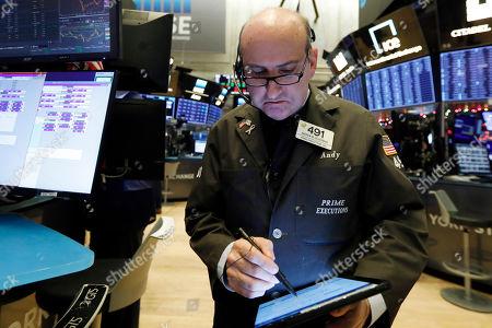 Editorial image of Financial Markets Wall Street, New York, USA - 11 Dec 2019