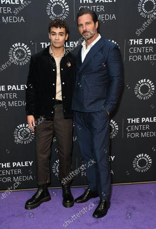 Daniel Croix Henderson and Ed Quinn