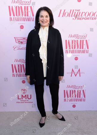 Stock Image of Sherry Lansing arrives at The Hollywood Reporter's Women in Entertainment Breakfast Gala, in Los Angeles