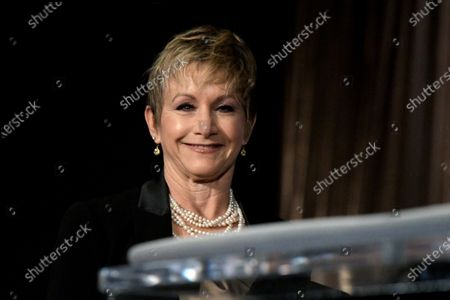 SAG President Gabrielle Carteris attends the nomination announcements for the 26th annual Screen Actors Guild Awards at the Pacific Design Center in West Hollywood, California, USA, 11 December 2019. The 26th Annual SAG Awards ceremony will be held on 19 January 2020.