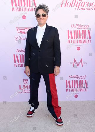 Jill Soloway arrives at The Hollywood Reporter's Women in Entertainment Breakfast Gala, in Los Angeles