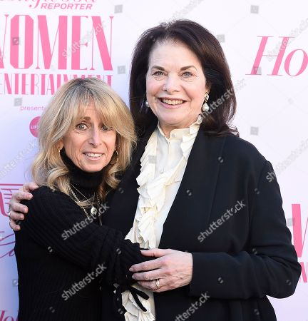 Bonnie Hammer, Sherry Lansing. Bonnie Hammer, left, and Sherry Lansing arrive at The Hollywood Reporter's Women in Entertainment Breakfast Gala, in Los Angeles