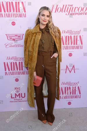 Stock Image of Rebecca Rittenhouse arrives at The Hollywood Reporter's Women in Entertainment Breakfast Gala, in Los Angeles