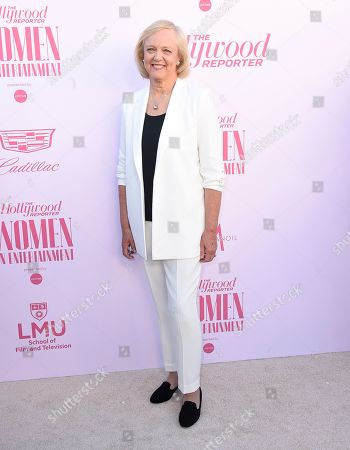 Meg Whitman arrives at The Hollywood Reporter's Women in Entertainment Breakfast Gala, in Los Angeles
