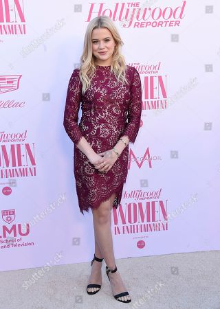 Ava Phillippe arrives at The Hollywood Reporter's Women in Entertainment Breakfast Gala, in Los Angeles